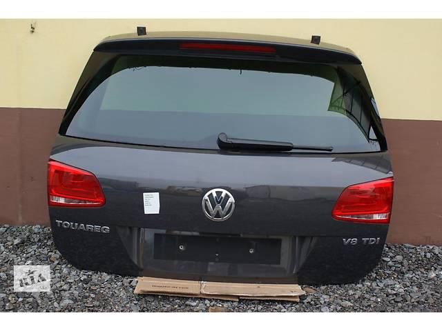 бу Б/у крышка багажника для легкового авто Volkswagen Touareg 7p 10- в Львове