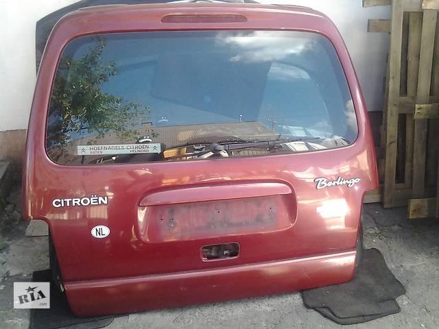 Б/у крышка багажника для минивена Citroen Berlingo- объявление о продаже  в Ковеле