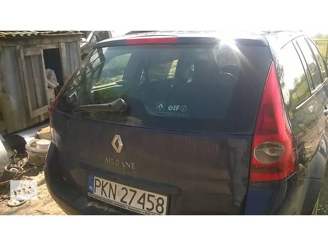 купить бу Б/у крышка багажника для универсала Renault Megane II в Стрые