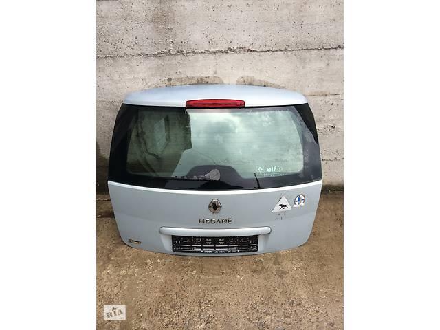 купить бу Б/у крышка багажника для универсала Renault Megane II в Бучаче