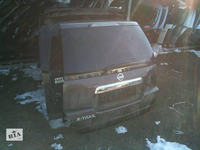 Б/у Крышка багажника Nissan X-Trail T30- объявление о продаже  в Киеве