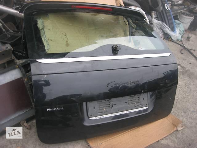 продам Б/у крышка багажника Porsche Cayenne 2003-2007 бу в Ровно