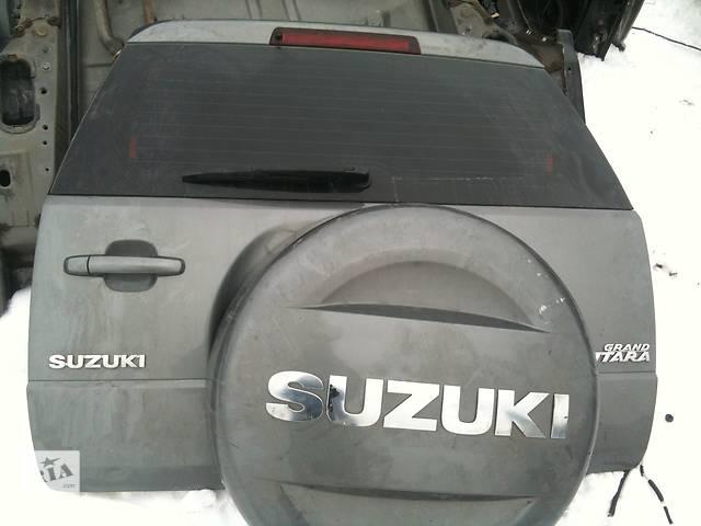 продам Б/у Крышка багажника Suzuki Grand Vitara бу в Киеве