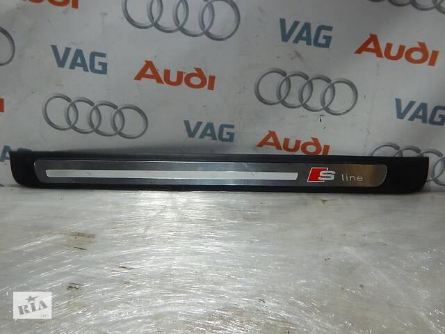 бу Б/У Накладка порога передняя левая S-Line AUDI A4 S4 8K0853373 в Самборе