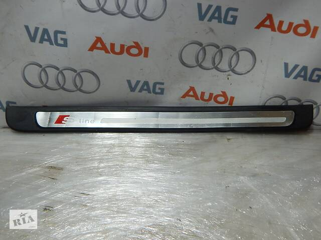 бу Б/У Накладка порога передняя правая S-Line AUDI A4 S4 8K0853374 в Самборе