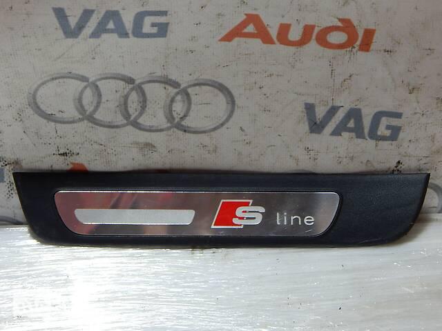 продам Б/У Накладка порога задняя левая S-Line AUDI A4 S4 8K0853375 бу в Самборе