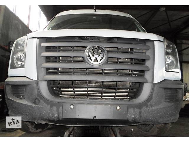 купить бу Б/у Решётка бампера, радиатора для Volkswagen CrafterФольксваген Крафтер 2.5 TDI 2006-2010 в Рожище