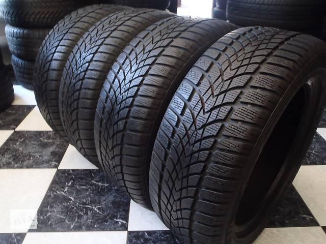 купить бу Б/у шины 8шт 205/55/R16 Dunlop Sp Winter Sport 4D 205/55/16 в Кременчуге