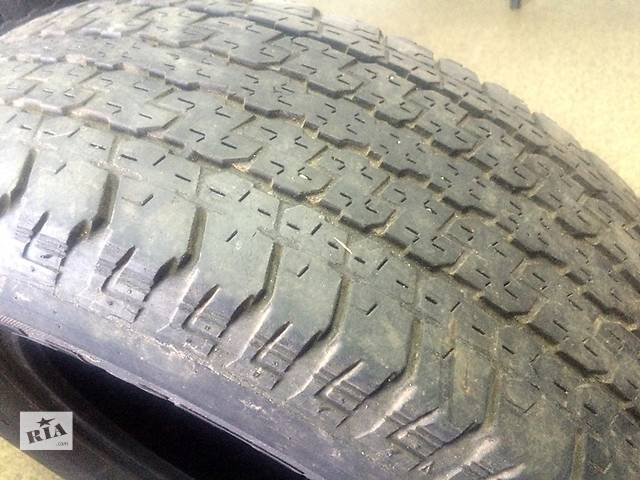 Б/у шины Bridgestone R17 265/65- объявление о продаже  в Киеве