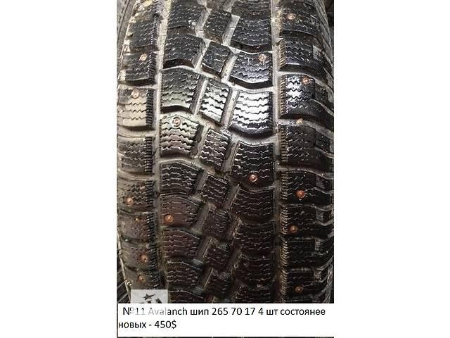 купить бу Б/у шины R17 для легкового авто в Одессе