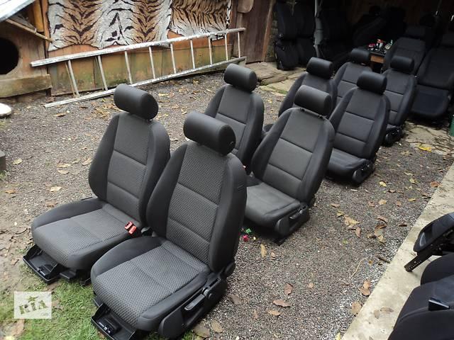 Б/у сиденье АУДИ А6-С6 = А4-Б6 сидения сиденья рено мерс лт-35- объявление о продаже  в Старом Самборе