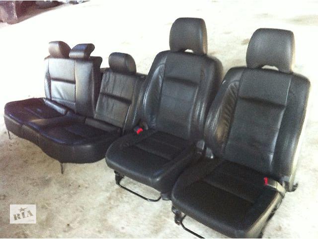 продам Б/у сидения кожаные (черыій цвет) Subaru Outback 2007 бу в Львове