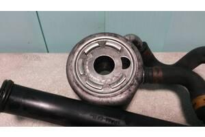 Б/у Теплообменник, масляный радиатор, охладитель Renault Kangoo 1997-2007. 1.5 dci. 8200068115A, 8200068115, 05379.
