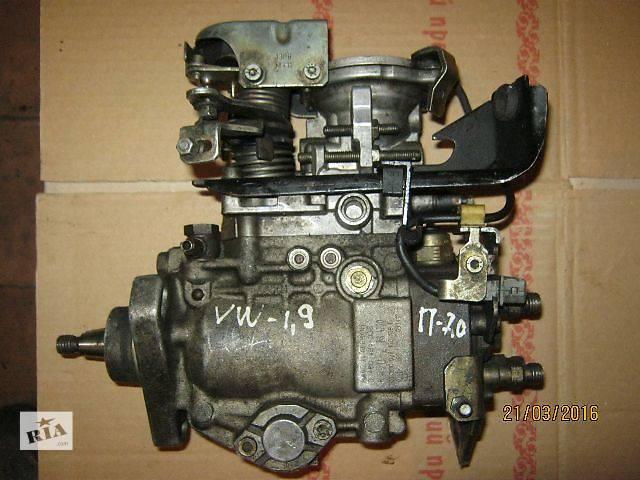 купить бу Б/у топливный насос высокого давления/трубки/шест для легкового авто Volkswagen в Ковеле