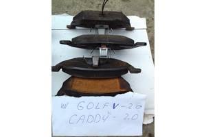 Б/у тормозные колодки комплект/накладки для Volkswagen Golf V