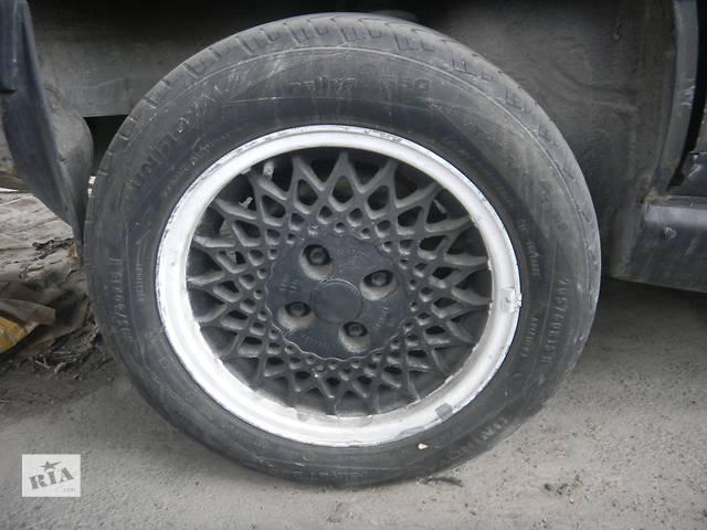 бу Б/у титановые диски R 15 /диск с шиной для седана Audi 100 в Виннице