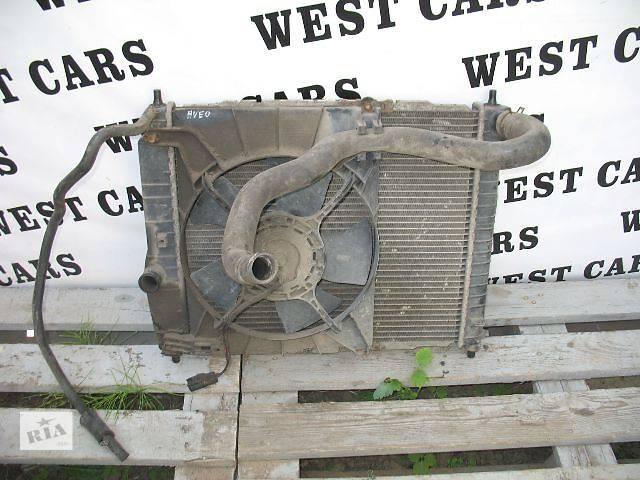 бу Б/у вентилятор осн радиатора для легкового авто Chevrolet Aveo Hatchback (5d) в Луцке