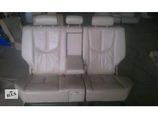 Б/у заднее сиденье для кроссовера Lexus RX 300 (I) 2001г- объявление о продаже  в Николаеве