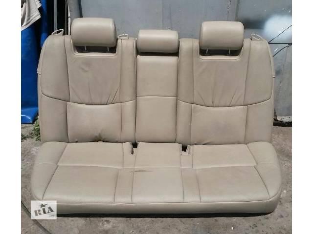 бу Б/у заднее сиденье для седана Toyota Avalon 2007г в Николаеве