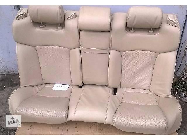 Б/у заднее сидение для седана Lexus GS 300 2007г- объявление о продаже  в Николаеве