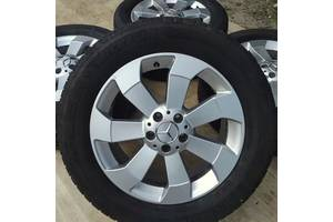 Б/в Диски + шини Mercedes orig. R18 5x112 8j ET56 GL ML GLS Мерседес Р18 МЛ