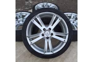 Б/в Диски+шини R18 5x112 8j ET35 Mercedes W210 W211 VW Passat Tiguan Audi