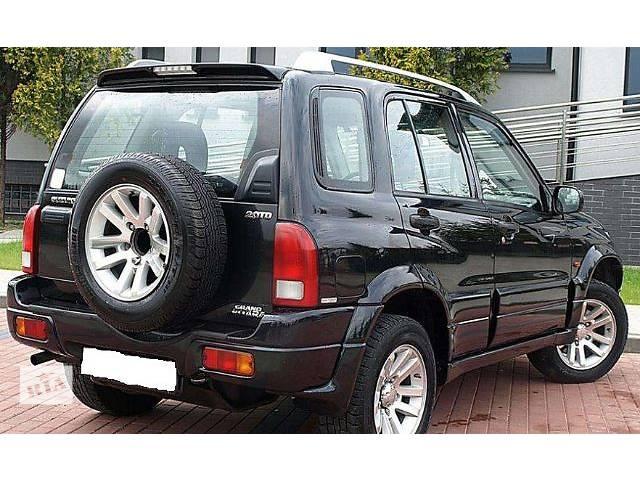продам б/у Детали кузова Багажник Легковой Suzuki Grand Vitara 2002 бу в Львове