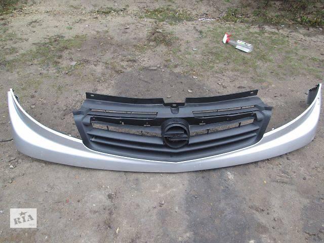 б/у Детали кузова Решётка радиатора Легковой Opel Vivaro 2007- объявление о продаже  в Ковеле