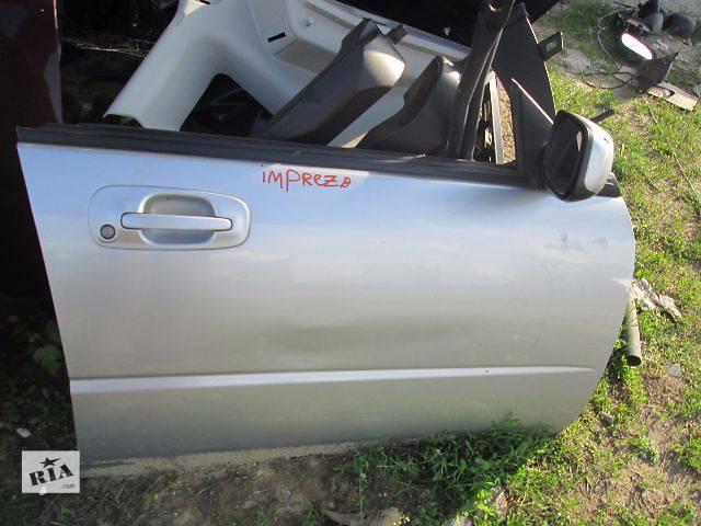 купить бу б/у Двери/багажник и компоненты Дверь передняя Легковой Subaru Impreza в Ковеле