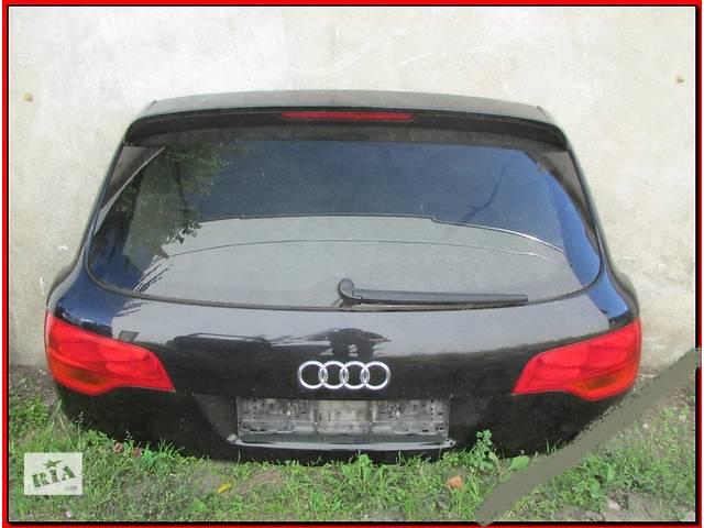 бу б/у Двери/багажник и компоненты Крышка багажника Audi Q7 в Одессе