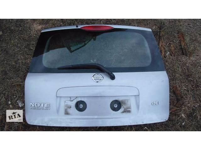продам б/у Двери/багажник и компоненты Крышка багажника Легковой Nissan Note 2006 бу в Ковеле