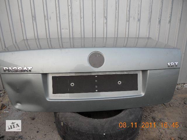 бу б/у Двери/багажник и компоненты Крышка багажника Легковой Volkswagen B5 Седан 2004 в Киеве