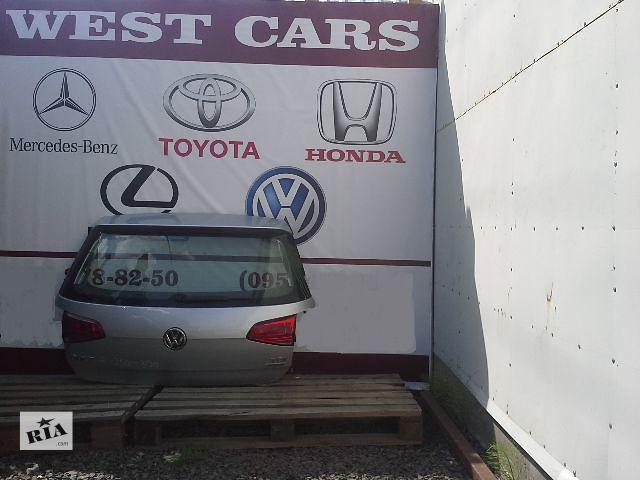 бу б/у Двери/багажник и компоненты Крышка багажника Легковой Volkswagen Golf VII в Луцке