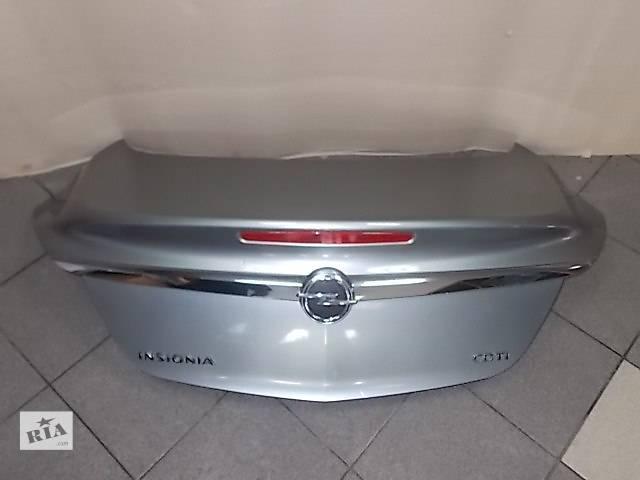 б/у Двери/багажник и компоненты Крышка багажника Opel Insignia- объявление о продаже  в Одессе