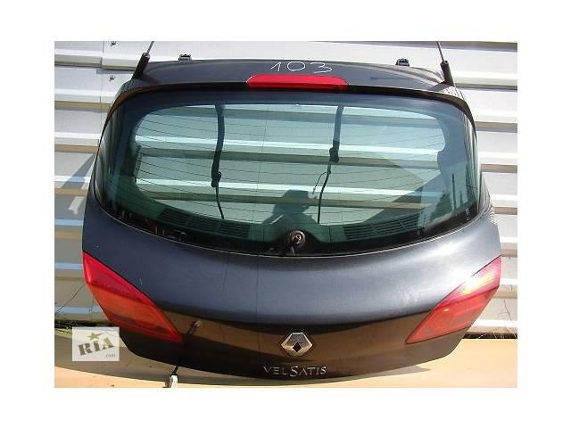 купить бу б/у Двери/багажник и компоненты Крышка багажника Renault Vel Satis в Одессе