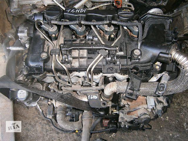 бу б/у  Двигатель для Peugeot, Citroen 1.6hdi в Виннице