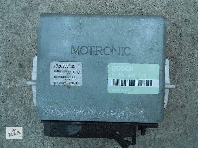 Б/у Електрообладнання двигуна Блок управління двигуном Легковий BMW 520 1988- объявление о продаже  в Чопе