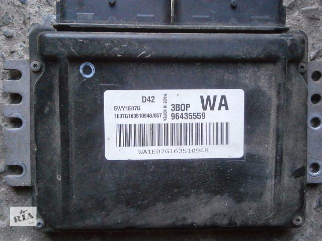 продам б/у Электрооборудование двигателя Блок управления двигателем Легковое авто Седан Chevrolet Aveo бу в Луцке