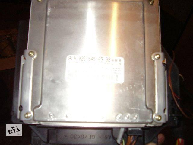 б/у Электрооборудование двигателя Блок управления двигателем Легковой Mercedes E-Class Седан 2001- объявление о продаже  в Черновцах