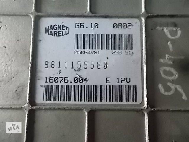 продам Б/у Электрооборудование двигателя Блок управления двигателем Легковой Peugeot 405 9611159580 бу в Ровно