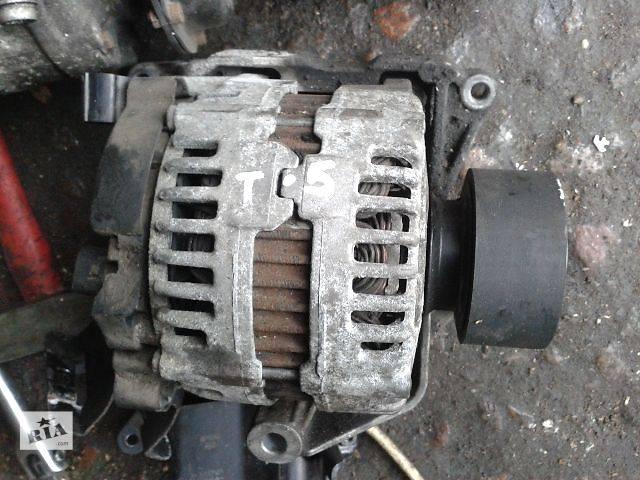 купить бу Б/у Электрооборудование двигателя Генератор/щетки Легковой Volkswagen T5 (Transporter) пасс. 2008 в Луцке