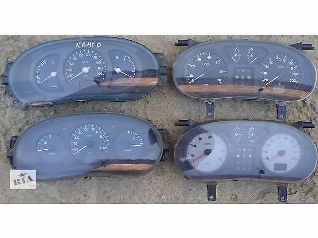 продам Б/у панель приборов/спидометр/тахограф/топограф для легкового авто Renault Kangoo бу в Хмельницком