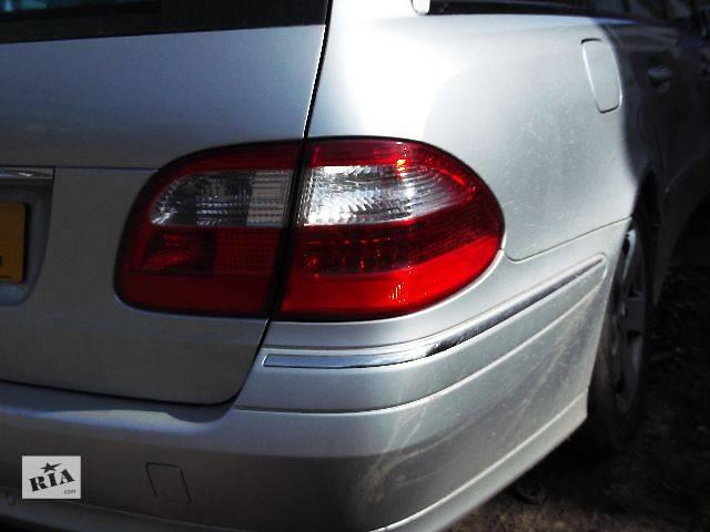 бу Б/у Электрооборудование кузова Фонарь задний Легковой Mercedes E-Class 2003 в Львове