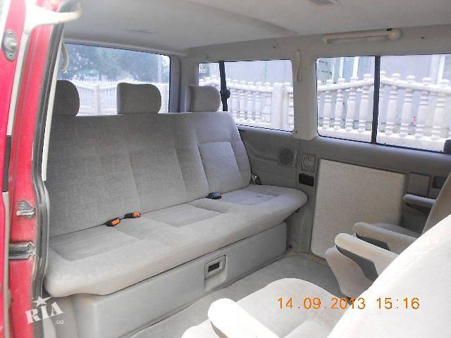 бу б/у Компоненты кузова Салон Легковой Volkswagen T4 Микроавтобус 2010 в Владимир-Волынском