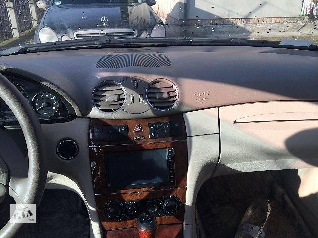купить бу б/у Компоненты кузова Торпедо/накладка Легковой Mercedes CLK-Class Купе 2006 в Ивано-Франковске
