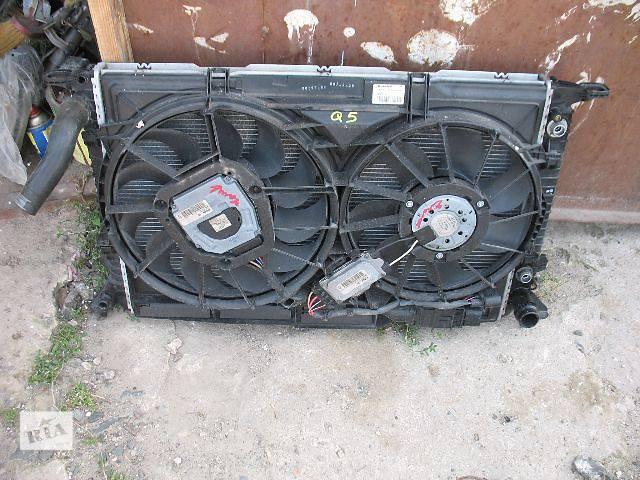 купить бу б/у Система охлаждения Вентилятор осн радиатора Легковой Audi Q5 в Луцке