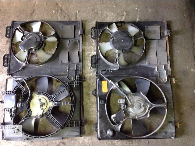 бу Б/у вентилятор осн радиатора для легкового авто Mitsubishi Outlander 2003-2008 р в Авдеевке (Донецкой обл.)