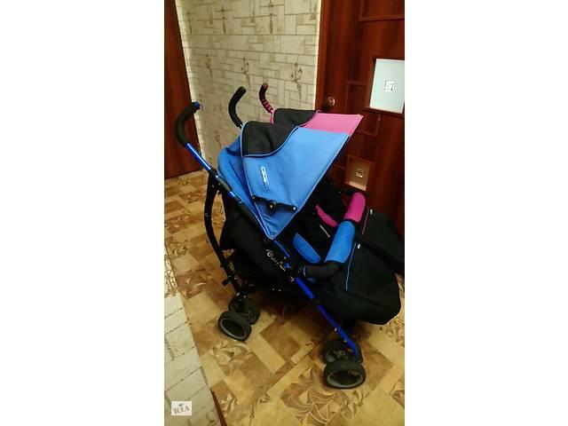 бу Детская прогулочная коляска для двойниDuo Comfort EasyGo в Бахмуте (Артемовск)