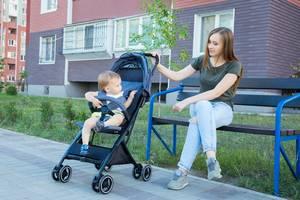 Новые Детские универсальные коляски