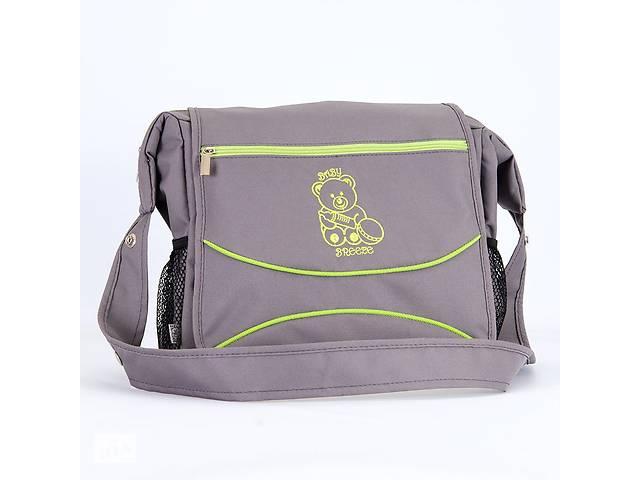продам Сумка для коляски Baby Breeze 0350 графит с салатовым кантом бу в Одессе